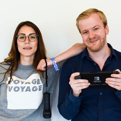 Andjela och Daniel gillar att prata spel i deras spelpodd Nordic Gamer.