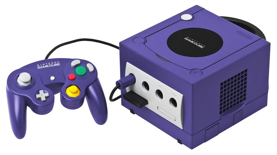 Gamecube en klassisk spelkonsol