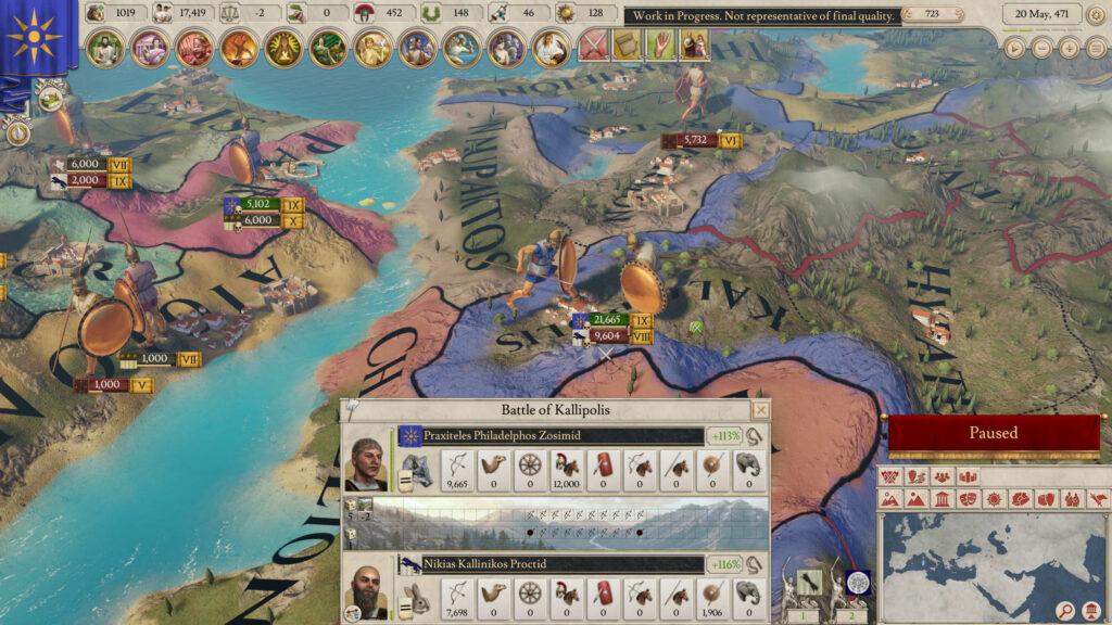 Spel som är strategispel