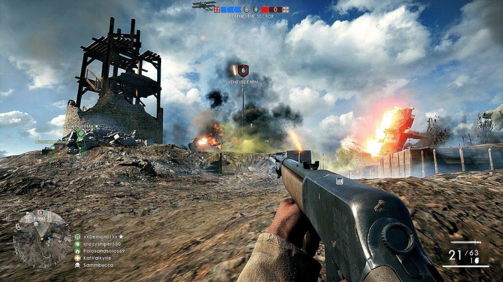 Battlefield 1 spel podd