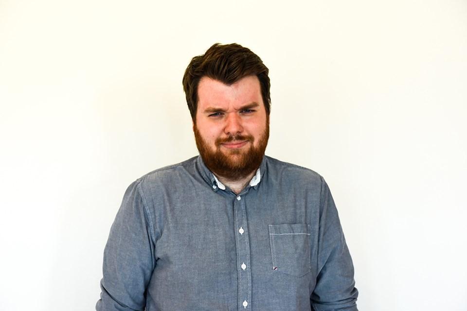 Pontus Nilsson från en spelpodd som heter Nordic Gamer